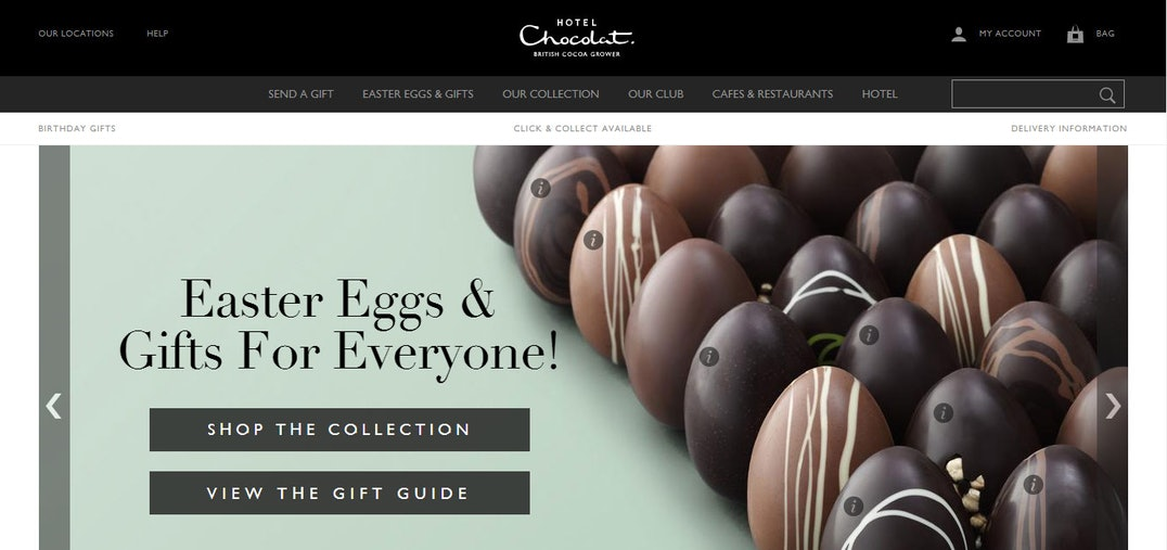 Best sites for easter eggs best sites digest the good web guide consider hotel chocolat as the net a porter of the chocolate world high end witty and chic their chocolate eggs arrive in stylish keepsake boxes complete negle Image collections