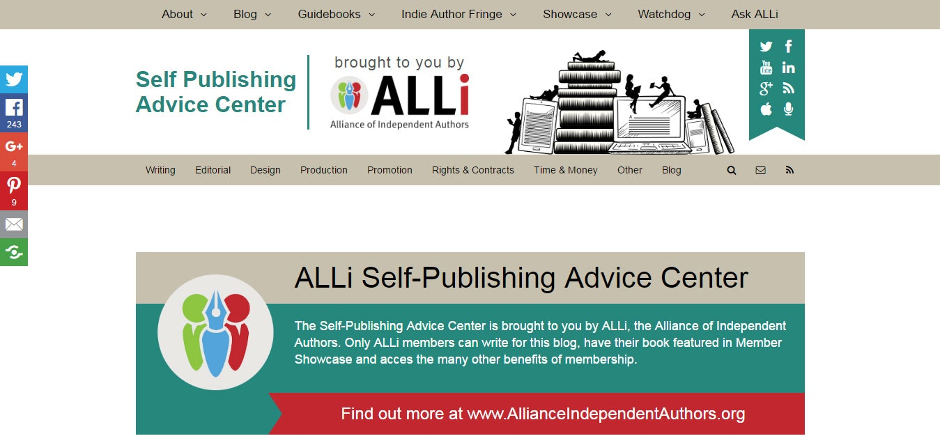 Best self publishing sites