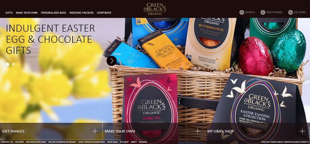 Best sites for easter eggs best sites digest the good web guide organic and fairtrade chocolatier green blacks sell traditional chocolate eggs in our favourite flavours tried the new dark with anglesey sea salt thin negle Image collections